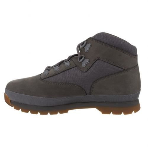 Euro Hiker Chaussure Garcon A125y leather grey