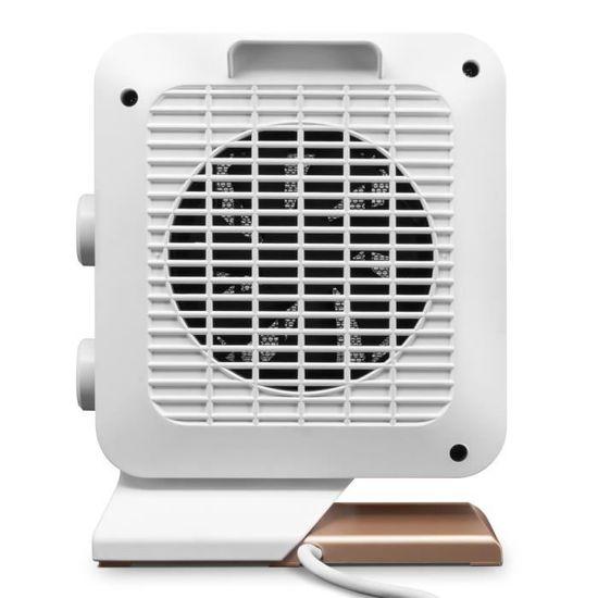 Ventilateur portable compact Heater 1200 W Blanc Embout De protection Hiver Chaleur Instantanée