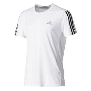 T-SHIRT ADIDAS T-shirt RUN 3S - Blanc