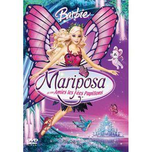 DVD DESSIN ANIMÉ DVD Barbie : Mariposa et ses amies les fées pap...