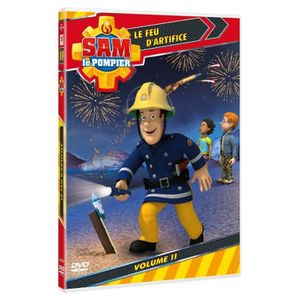 DVD DESSIN ANIMÉ DVD Sam le pompier - Volume 11 : le feu d'artifice