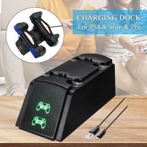 DOCK DE CHARGE MANETTE Station de Rechargement Pour Manette PS4 Chargeur