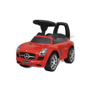 PORTEUR - POUSSEUR Porteur Mercedes 66 cm Rouge