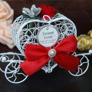 BOÎTE À DRAGÉES ROUGE Boîte à Dragées Coffret Cadeau de Mariage de