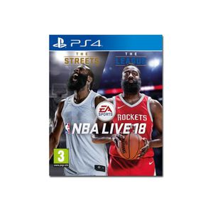 JEU PS4 NBA Live 18 The One Edition PlayStation 4 italien