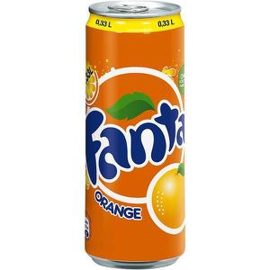 Soda - Thé glacé Fanta Orange 24 x 0,33l