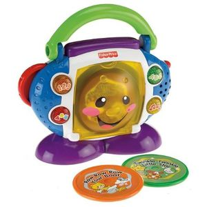 RADIO CD ENFANT FISHER PRICE - P2672-0 - MON PREMIER LECTEUR CD