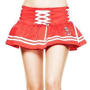 JUPE Jupe Motley Mini-jupe rouge L 3JZ3K3 Taille-M