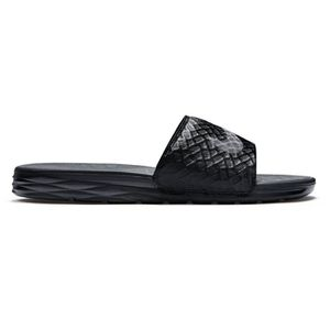 sports shoes ed249 c7c53 SANDALE - NU-PIEDS NIKE, Nike benassi solarsoft slide, Black anthraci