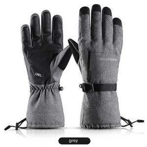 Moufles Hiver Chaud Gants Coton Enfants Mitaines Plein-doigts dext/érieur Ski Snowboard V/élo Cyclisme Ecole Doublure Peluche Epais avec Corde Anti-perdu Gloves Filles Gar/çons 3-7Ans cadeau de No/ël