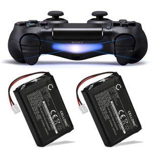MANETTE JEUX VIDÉO 2x Batterie pour Manette PS4 V1 (2013) - DualShock