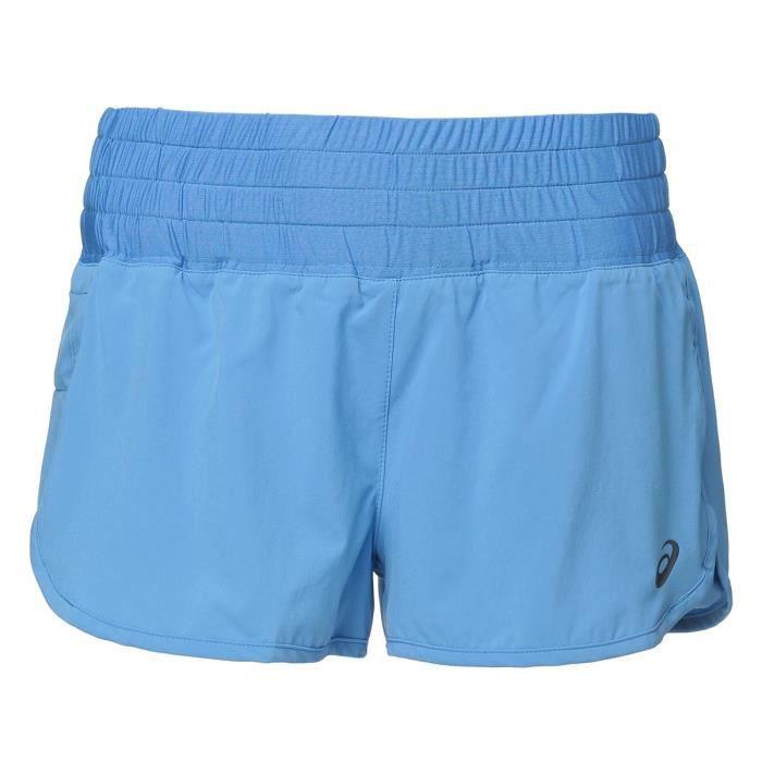 ASICS Short Woven - Femme - Bleu