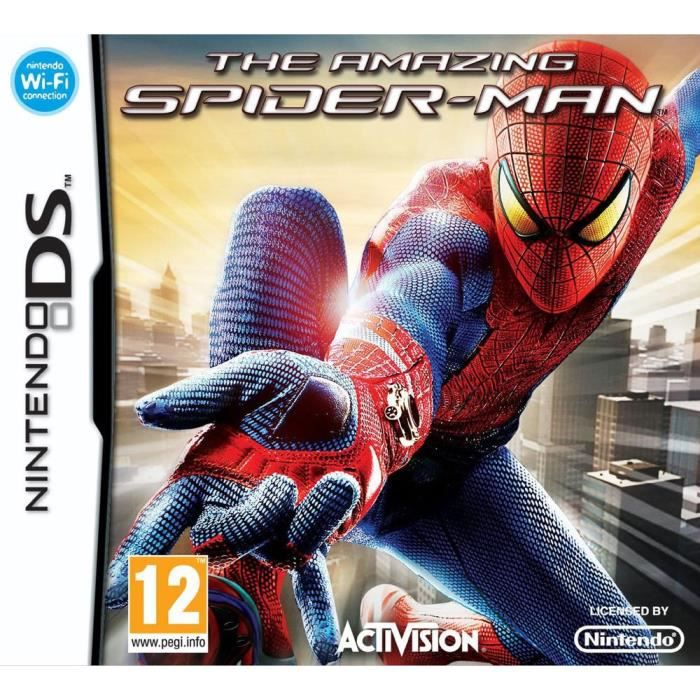 JEU DS - DSI THE AMAZING SPIDER-MAN / Jeu console DS
