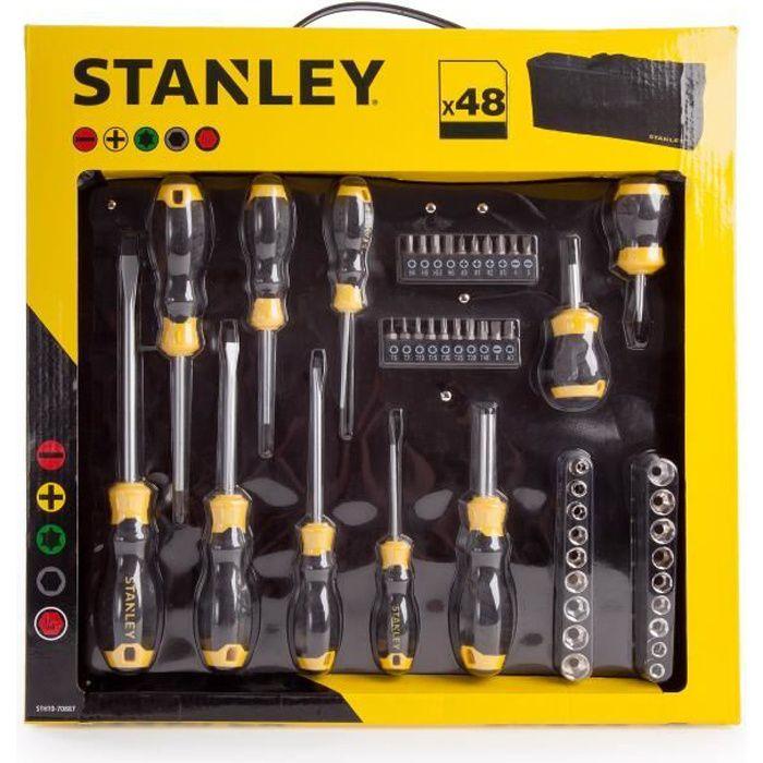STANLEY Set de 48 outils à main STHT0-70887 - Avec housse de transport