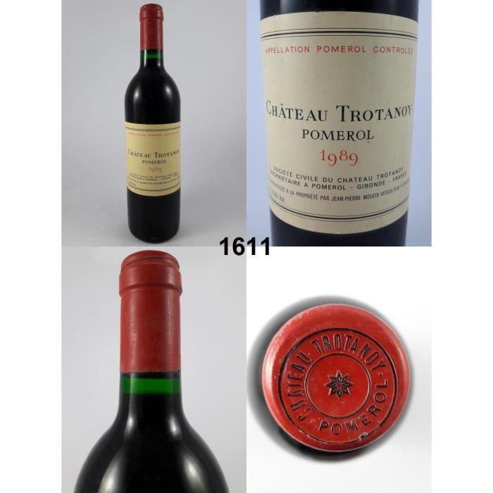 Château Trotanoy 1989 - N° : 1611, Pomerol, Rouge
