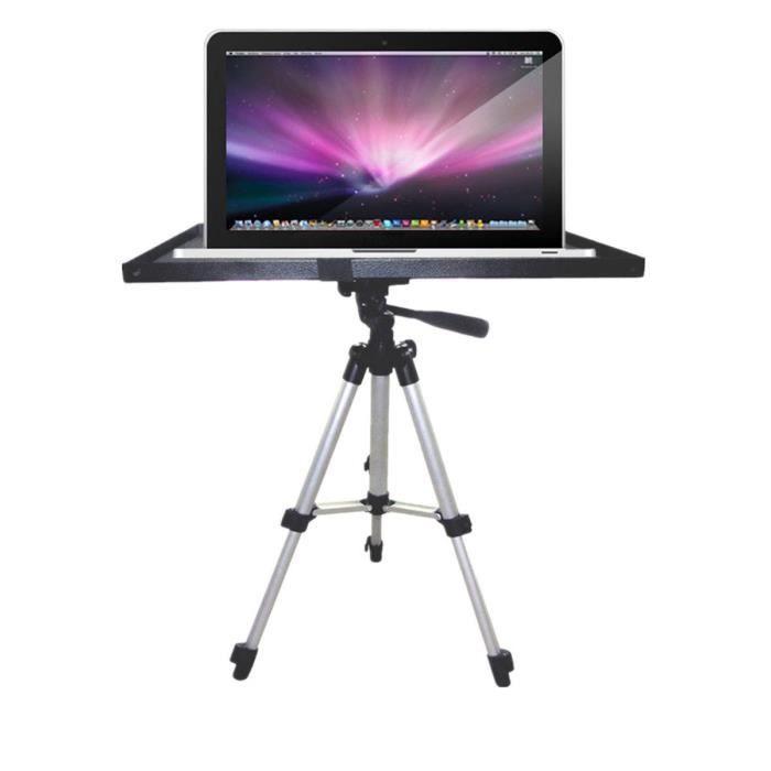 Support de plateau de moniteur pour ordinateur portable pour projecteur pour pied de trépied à 1/4 vis