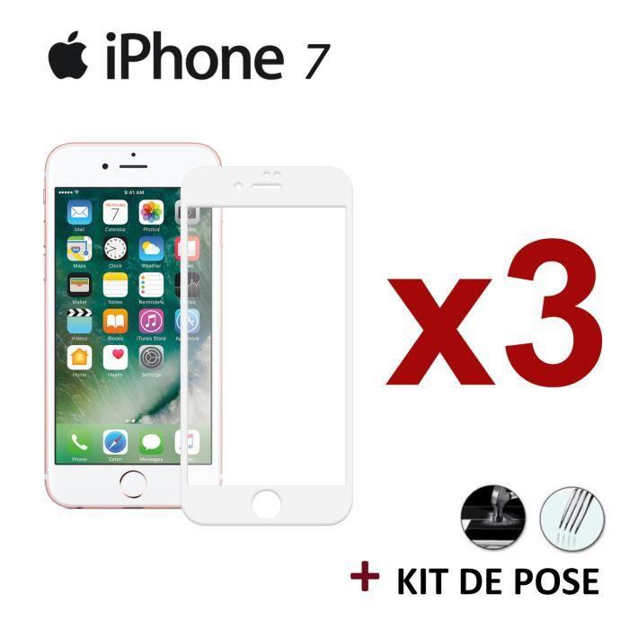 vitre protege ecran iphone 7