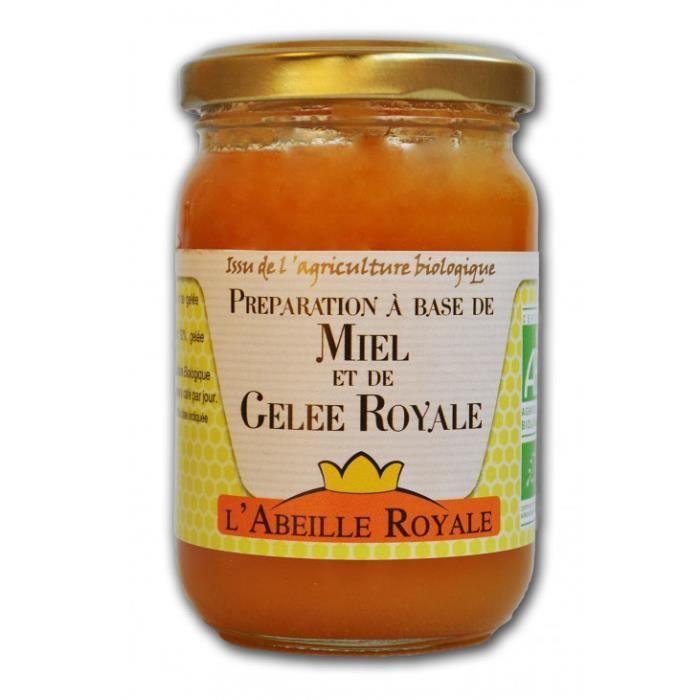 Abeille royale - Préparation à base de miel & gelée royale 250gr
