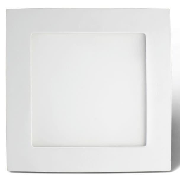 Dalle LED carré 12W - Syme Blanc