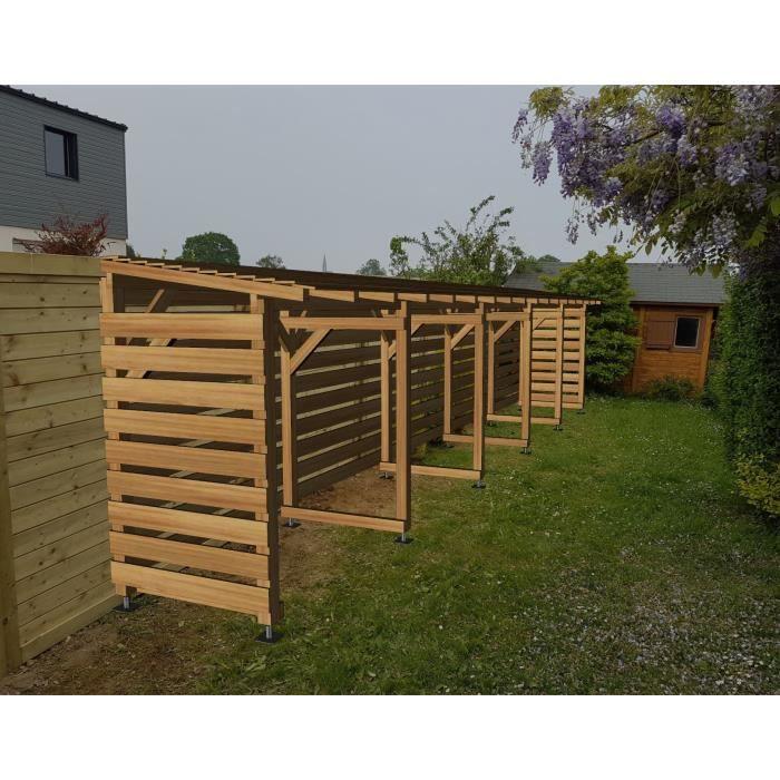 Abri Jardin 10m - Couvert - Cl3 Marron - Jardinatoire