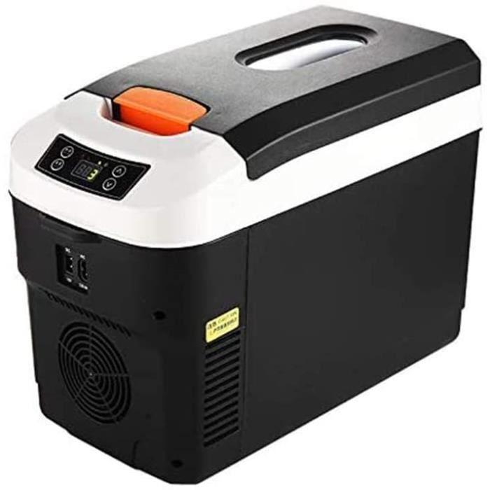 Réfrigérateur de voiture BIYLL, mini réfrigérateur portable 12V 24V 220V, affichage numérique 12L