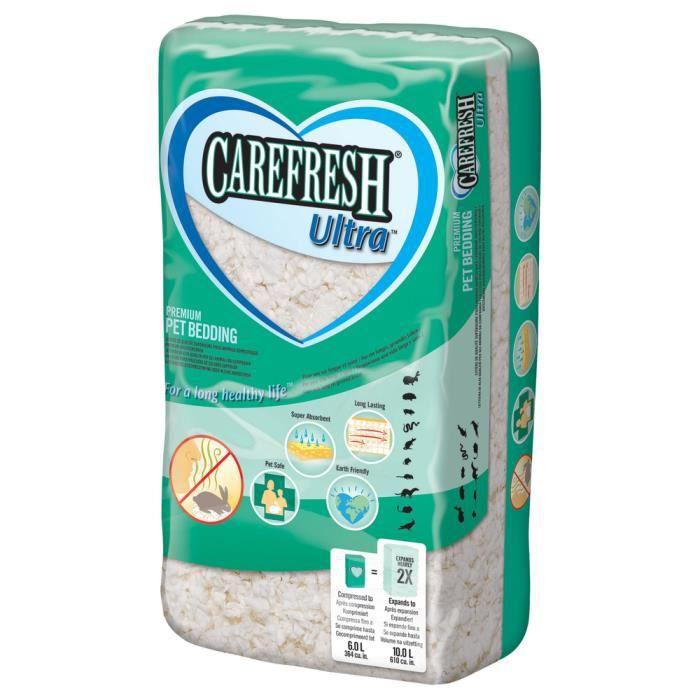 Carefresh - Litière Ultra White pour Rongeurs - 10L