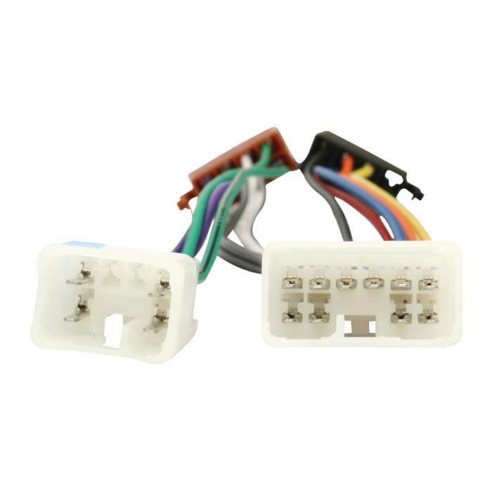 Accessoires divers Hq ISO Câble TOYOTA Toyota voiture Équipement audio