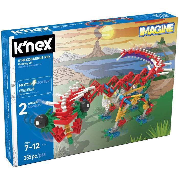 Jeu de construction motorisé Knex Imagine : K'Nexosaurus Rex aille Unique Coloris Unique