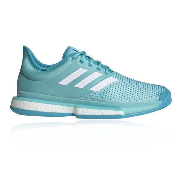 Adidas Hommes Solecourt Boost Parley Tennis Chaussures De Sport