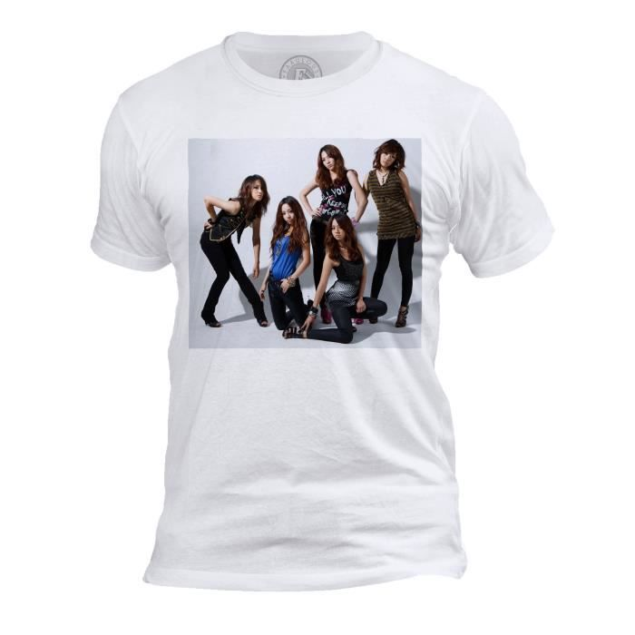 T-shirt Homme Col Rond Kara Kpop Stars Coree Groupe Park Gyuri
