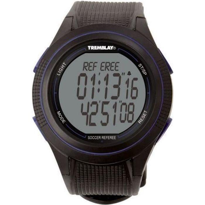 Montre arbitre :Précision au 1-100° de seconde, avec temps intermédiaire.Piles disponibles sous la REF : CR2025.