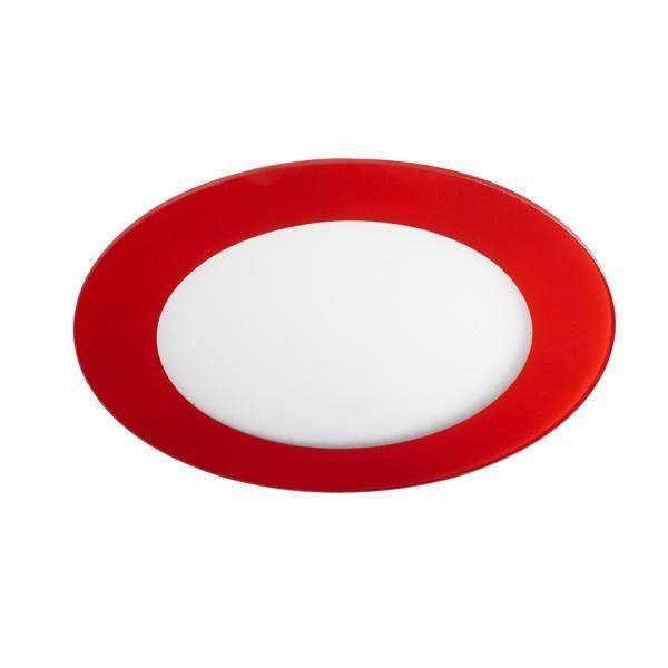 Spot Downlight LED Rond 20W Verre Rouge. Wonderlamp éclairage LED.