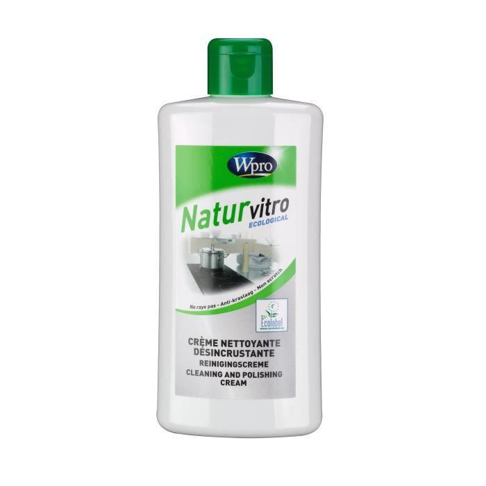 WPRO ECO307 Crème vitro nettoyante désincrustante ecolabel - flacon 250ml
