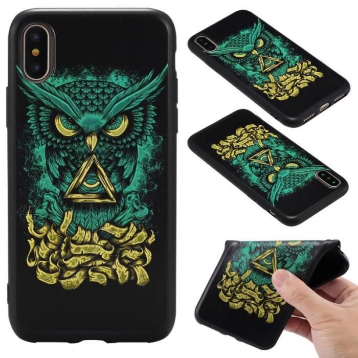 coque iphone x diable