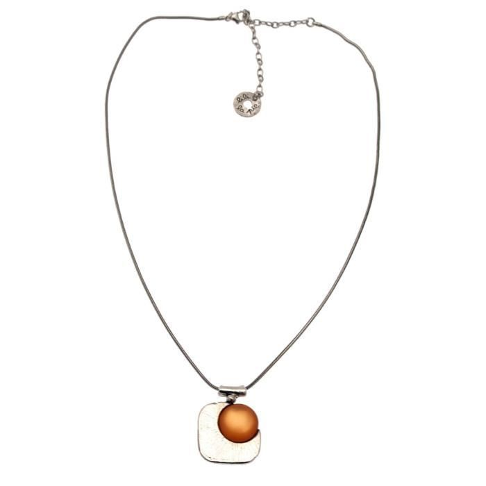 Collier pendentif collection PACOOrange