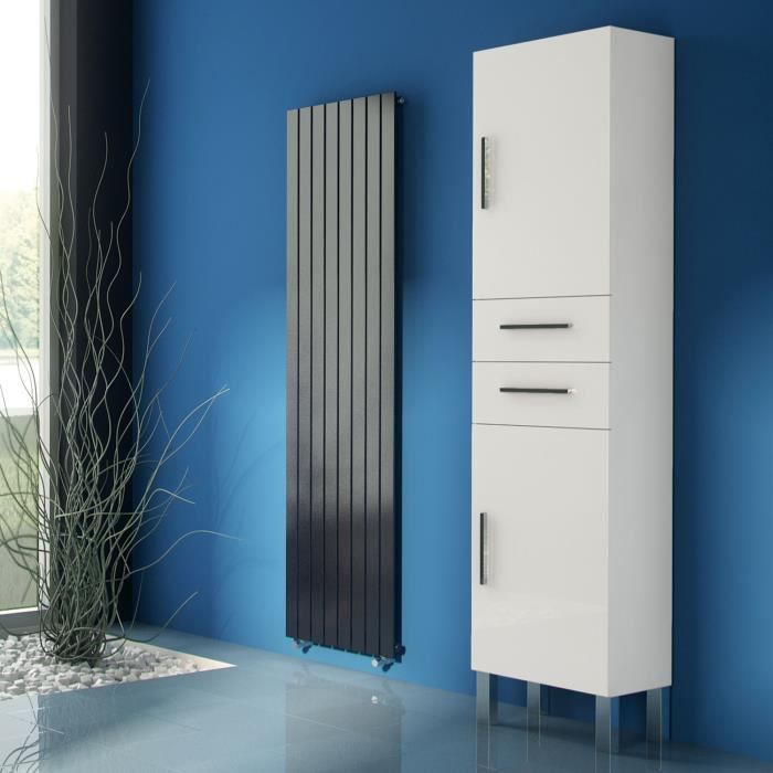 pila blanche 175 cm colonne de rangement achat vente. Black Bedroom Furniture Sets. Home Design Ideas
