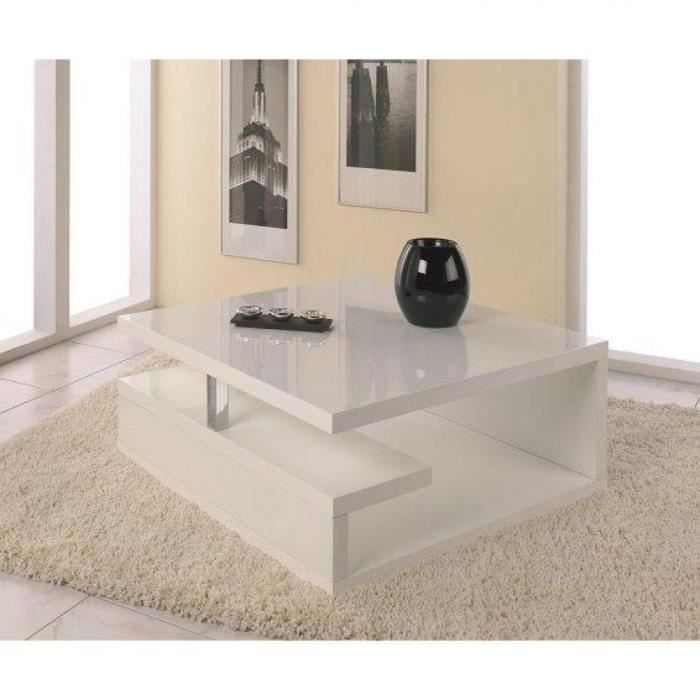 table basse laque blanc avec rangement achat vente table basse laque blanc avec rangement. Black Bedroom Furniture Sets. Home Design Ideas