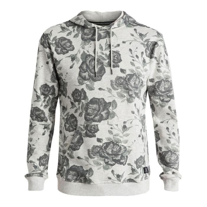 Sweat shirt avec capuche DC shoes Lynden Blanc Achat