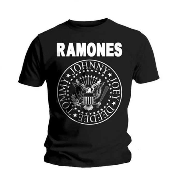 Taille L import USA T-Shirt RAMONES Hey Ho