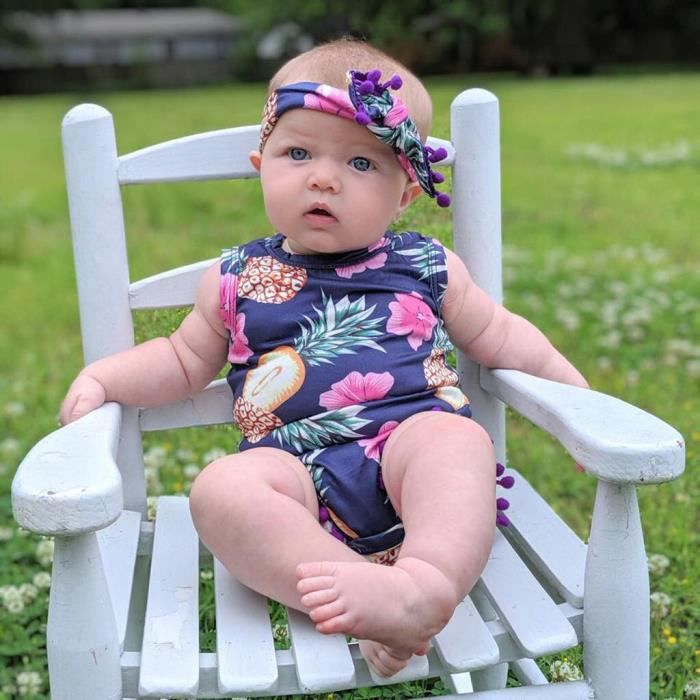 Newborn Infant bébé garçon à manches longues ANGE tops pantalon chapeau 3PCS Costume Vêtements T