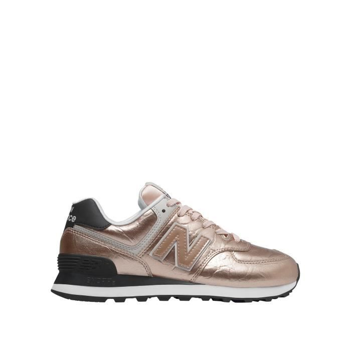 baskets femme new balance rose