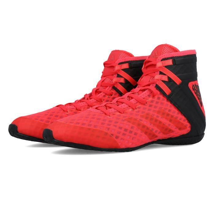 adidas boxe chaussure rouge