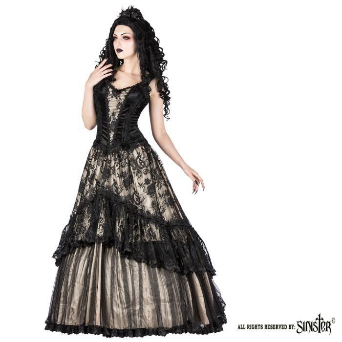 Robe Gothique Victorienne Achat Vente Pas Cher