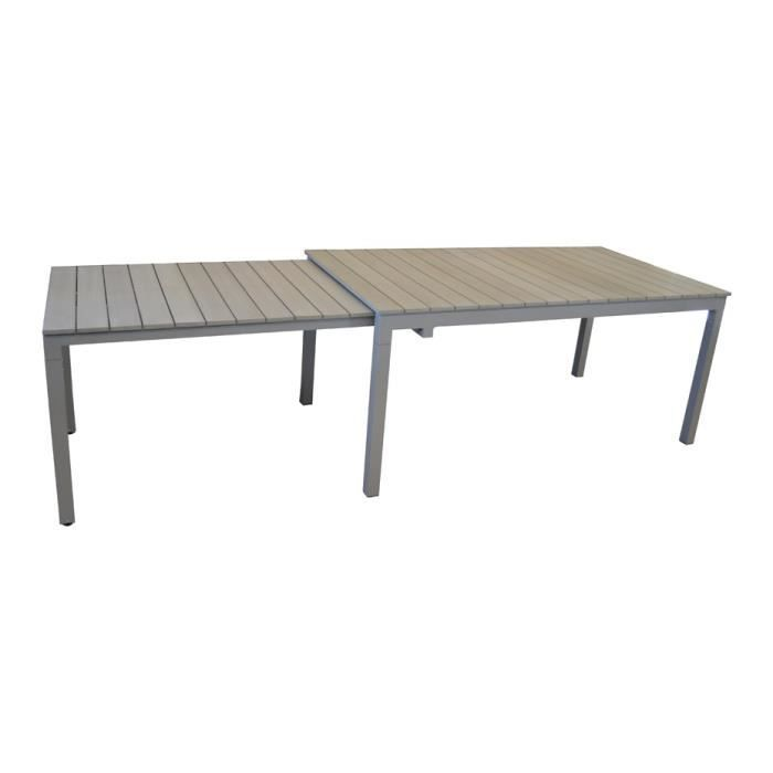 Table de jardin thema allonge escamotable achat vente table de jardin tab - Achat table de jardin ...