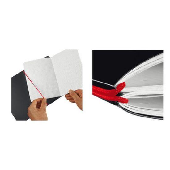 A5 Herlitz Classic Carnet de notes format A6 96 pages blanches Noir my.book 1