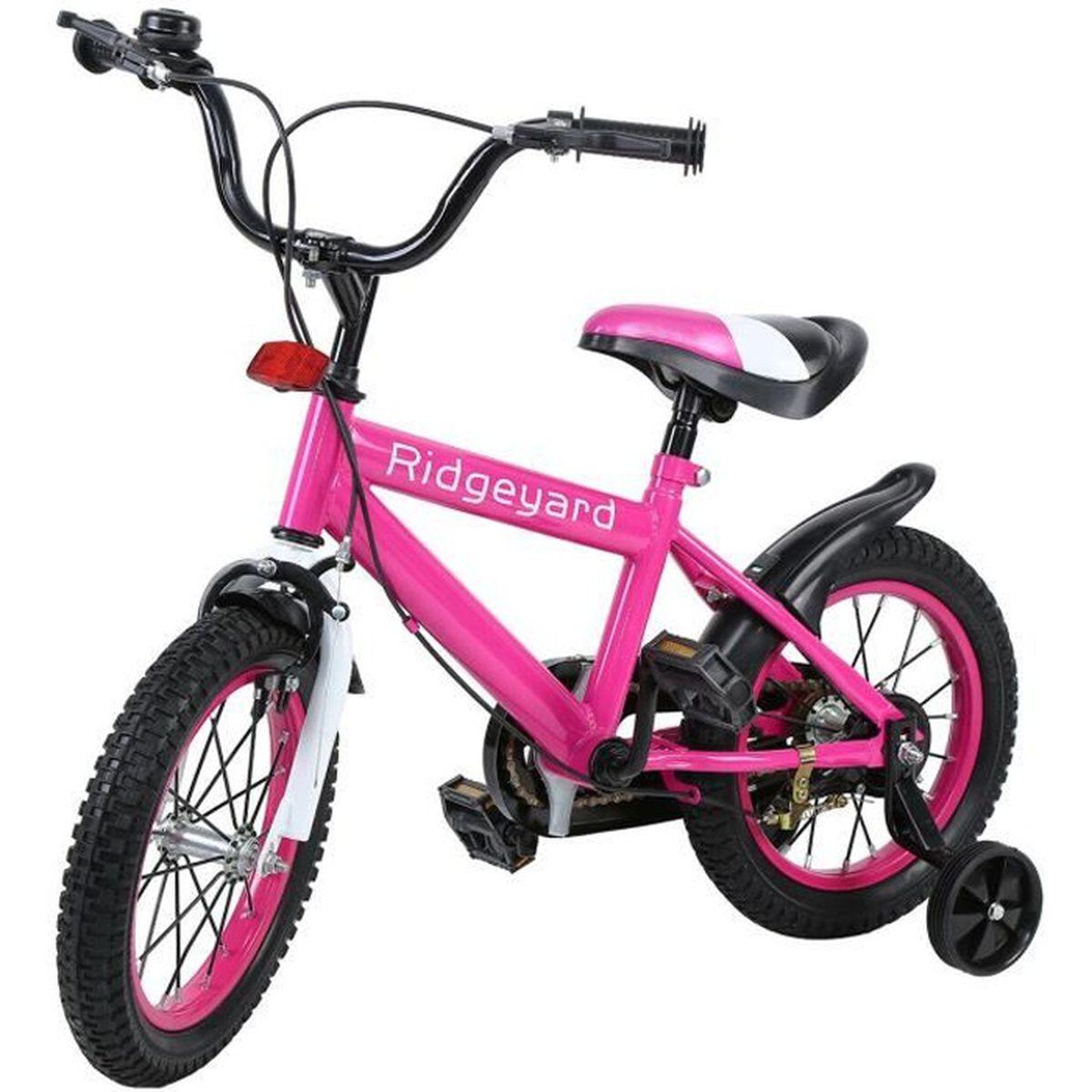 TRICYCLE Ridgeyard 14 Pouces Vélo Enfant Étude d'apprentiss