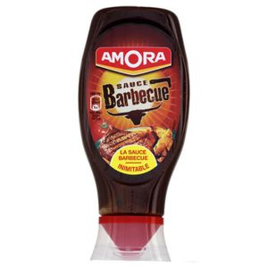 CONFISERIE DE SUCRE Amora Sauce Barbecue (lot de 10 x 3 flacons)