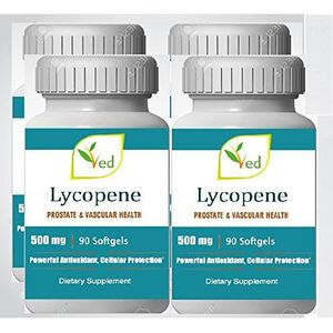 COMPLEMENT ANTI-ÂGE Lycopene 500mg 360 Softgels (1 year supply), Super