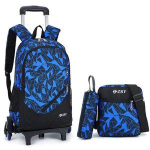 CARTABLE 4in1 Trolley Bag Cadeaux Rentrée Scolaire Sac à Do