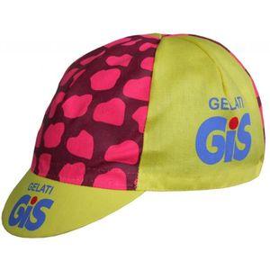 MAILLOT DE CYCLISME Casquette de Cyclisme Vintage Gis Gelati (Rose Jau